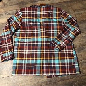 Urban Outfitters Jackets & Coats - UO Double Breasted Checkered Blazer Maroon